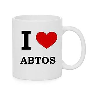 I Herz Abtos (Liebe) offizielle Tasse