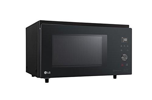 LG MJ3965BPS - Microondas 4 en 1 Smart Inverter, convección máxima 1850W, grill 950 W, microondas 1100 W y 39 l de capacidad, color negro