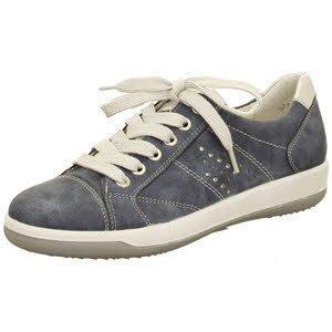 Jenny 2258710-05 - Zapatos de Cordones para Mujer, Color Azul, Talla 37 EU