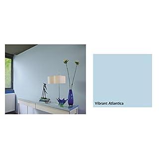 Alpina Colorful World Innenfarbe, 2,5 L. Vibrant Atlantica, Hellblau, matt