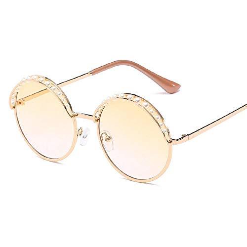 SENCILLO Mode Sonnenbrillen lustige Sommer unregelmäßige Beliebte Metallrahmen Sonnenbrillen mit Diamanten (4)