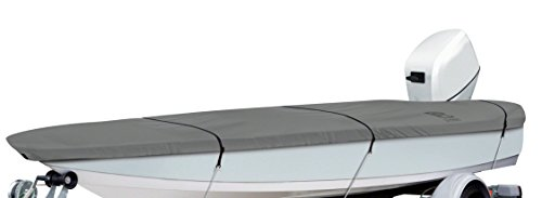 Classic Accessories Lunex RS-1 Boat Cover, Grey, Fits 12' - 14' L x 68