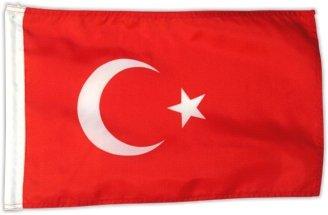 Fahne Flagge Türkei 30 x 45 cm