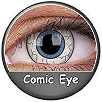 Kontaktlinsen Festive ohne Stärke Phantasee Modell Fancy Lens 14mm Comic Eye