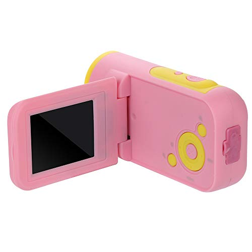 Kamera für Kinder,Harpily-Video Camcorder Full HD-HD 1080P-Handheld Digitalkamera 4xDigitalzoom (Rosa)