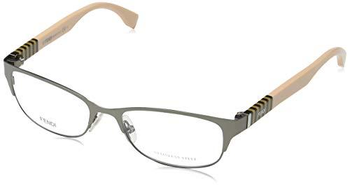 Fendi Damen FF 0033 T4G/17-53-17-140 Brillengestelle, Grau, 53