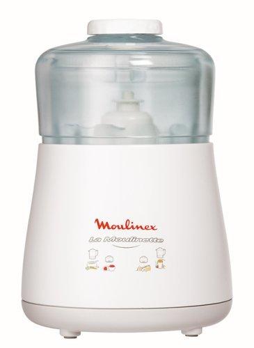 Moulinex DPA141 La Moulinette Tritatutto, 1000 W, Bianco