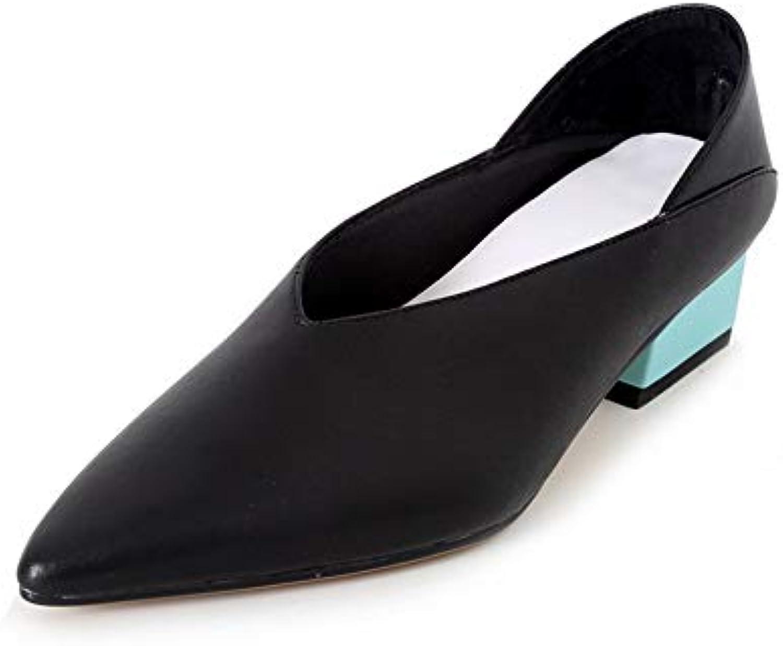 1TO9 Donna Vestito Solido Strutturato uretano Pompe Scarpe MMS06585, Nero (Nero), 35 EU | Prezzi Ridotti  | Uomo/Donna Scarpa