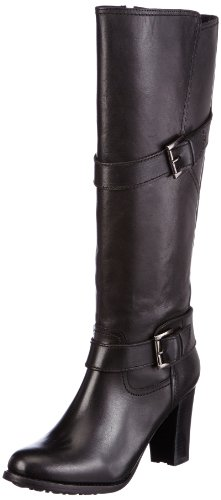 Buffalo London  1017-2 N COW, bottes & bottines femme Noir - Schwarz (BLACK 01)