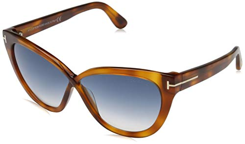 Tom Ford Damen FT0511 53W 59 Sonnenbrille, Braun,