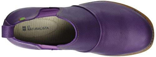 El Naturalista Damen Nc70 Soft Grain Purple/ Tricot Chelsea Boots Violett (PURPLE NP4)