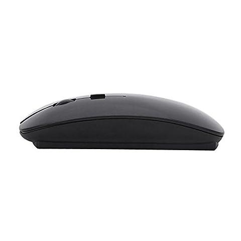 Mouse,Holeider Slim 2.4 GHz optische drahtlose LED Maus mit USB Nano Mini Empfänger für Laptop PC Macbook (Hp Laser Mobil)
