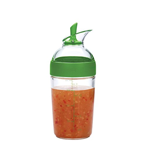 OXO Good Grips Dressing Shaker, 250 ml - Green