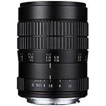 Laowa 60mm f/2.8 2:1 Ultra-Macro Canon-EF MILC/SLR Macro lens Black - Camera Lenses (MILC/SLR, 9/7, Macro lens, 0.185 m, Canon EF, 22 - 2.8)