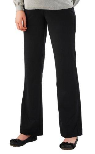 Christoff Pantalon Femmes avec féminine Touche de maternité Pantalons 34 - 54 Marron