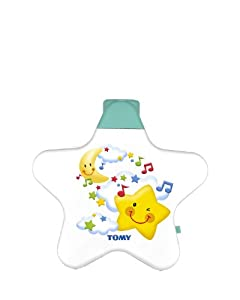 TOMY First Years Starlight Dream Show - Lights and Sounds Nightlight- Suitable for Newborn Baby from Birth