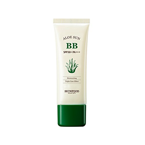 Skinfood,Aloe Sun BB Cream SPF50+/PA+++ #2 Natural Skin 50g (Skinfood Bb Cream)