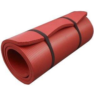 ScSPORTS Gymnastikmatte 190 x 80 x 1,5 cm, rot