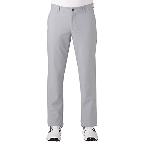 adidas Golf 2017 Mens Breathable Climawarm Trousers Golf Performance Thermal Pants Mid Grey 32x32 -