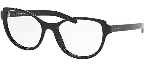 Ray-Ban Damen 0PR 12VV Brillengestelle, Schwarz (Black), 52.0