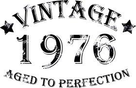 Mister Merchandise Tote Bag Vintage 1976 - Aged to Perfection 39 40 Borsa Bagaglio , Colore: Nero Nero