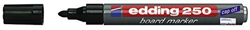 Edding Whiteboardmarker 250, nachfüllbar, 1.5-3 mm, schwarz