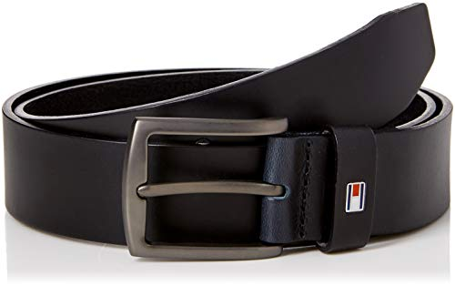Tommy Hilfiger New Denton Belt 3.5 Cintura, Blu (Tommy Navy 413), 7 (Taglia Produttore: 95) Uomo