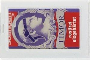10 Timor Stainless Steel Rasierklingen - Erstelle deine Auswahl