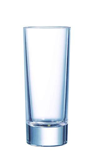 Arcoroc Islande Vaso de Chupito 65ml, sin la Marca de Llenado, 12 Vidrio