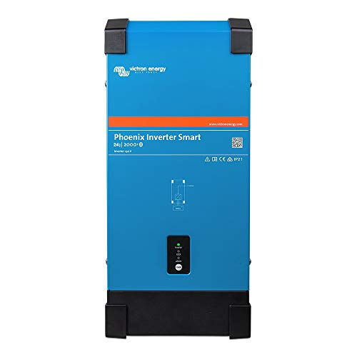 Victron Energy Phoenix Smart Inverter Bluetooth Integrato VE.Direct 24 V 230 V, Phoenix Smart 24/2000, 1