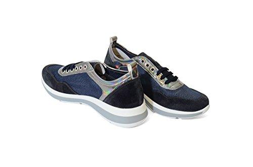 42S4 BLU Scarpa donna sneaker Frau Blu