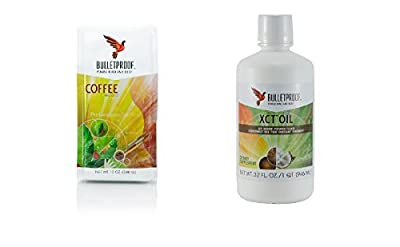 Bulletproof Coffee Ground Decaf and 32 Oz XCT Oil by BulletProof by Bulletproof