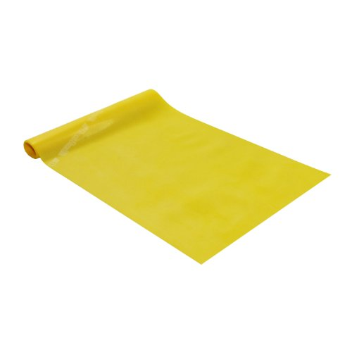 Resistive Übung Band (Thera-Band Original-Übung Resistance Band Wahl der Spannung und Farben. (5.0 metre, Yellow/Gelb))