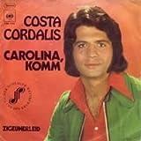 Costa Cordalis - Carolina, Komm - CBS - CBS S 1758, CBS - CBS 1758