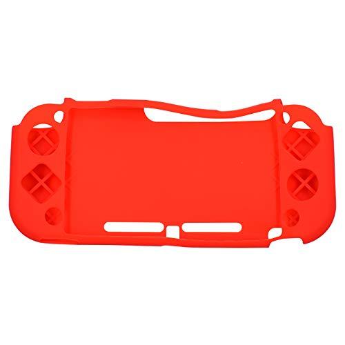 Silikongummi Schutzhülle Skin Anti-Rutsch-Silikonhülle für Nintendo Switch Lite Konsole für NS Lite-Rot