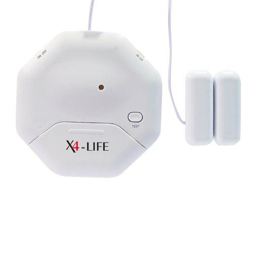 X4-LIFE Security Glasbruch- und Öffnungs-Alarm Einbruch Abwehr Sicherheit