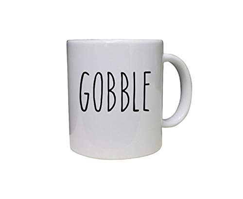 ChGuangm Fall Decal Gobble Decal Vinyl Decal Vinyl Sticker Its Fall Yall Decals for Coffee Mugs Fall Stickers Fall Decorations Mug Fall