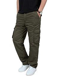 Herren Baumwoll Winter Neu Plus Samt Overall Herren Camouflage Hosen Hose Camping & Outdoor