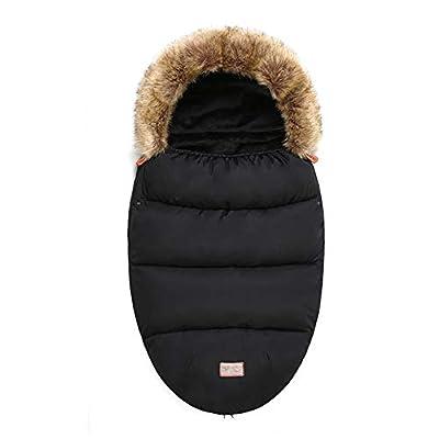 Universal Sacos de Abrigo Carritos Silla de Paseo Saco de invierno Térmica con Capucha Forro Polar Antideslizante Aire Libre Para Cochecito Sillas de Coche