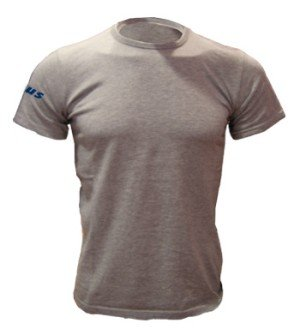 Zeus Herren T-Shirt Training Fußball Fitness Sport T-SHIRT BASIC GRAU (XXL)