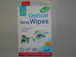 Iba 039 Optical Wipes X24 + 6 more (New Packaging 9051)