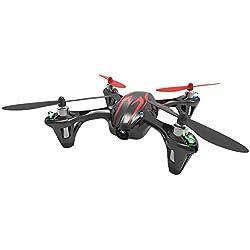Hubsan X4 Cemare H107C LED Mini QuadCopter RTF avec Caméra, 2.4Ghz Télécommande inclus, Noir/rouge