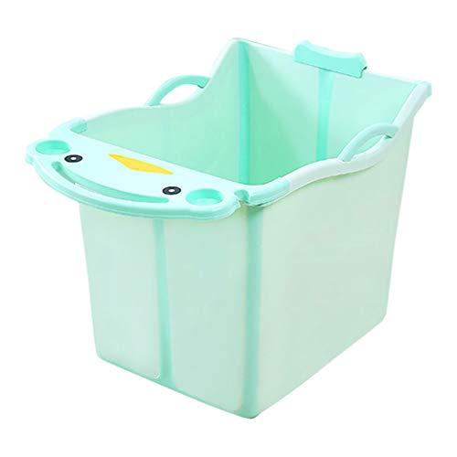 Bebé Tina De Baño Grande Caja De Baño Plegable Almacenamiento para Niños Cubo De Baño para Niños...