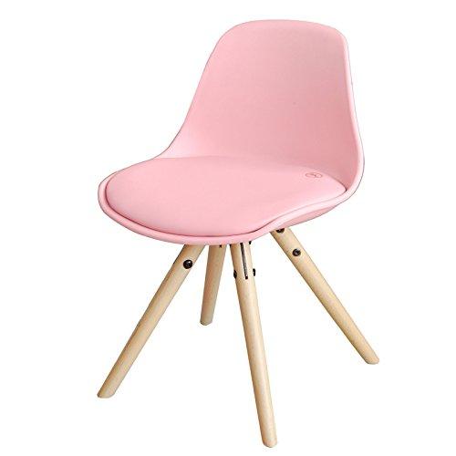 SoBuy Kinderstuhl, Stühlchen, Sitzhocker, Sitzhöhe 35cm, pink, FST46-P