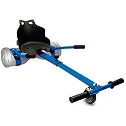 Intense Devices Hoverkart Silla para Patinete Electrico Self Balancing Compatible con Todos los tamaños (Azul)