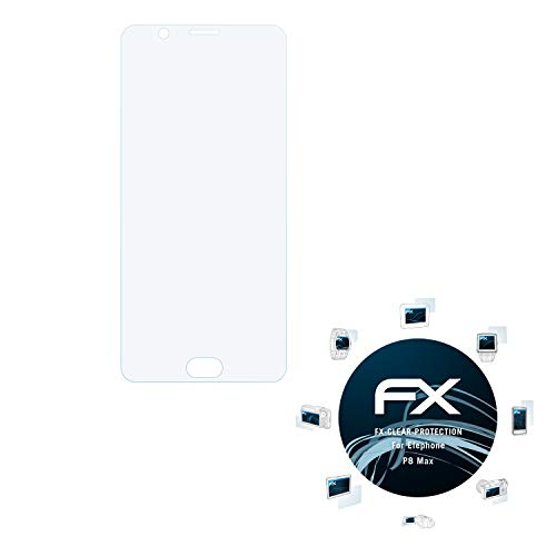 atFolix Schutzfolie kompatibel mit Elephone P8 Max Folie, ultraklare FX Bildschirmschutzfolie (3X)