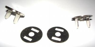 Preisvergleich Produktbild 10 Neodym-Magnetverschlüsse 18 mm
