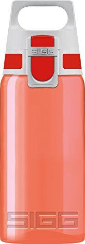 Sigg Viva One Rojo, Botella de Agua Deportiva, 0.5 L, Polipropileno, sin BPA, Rojo