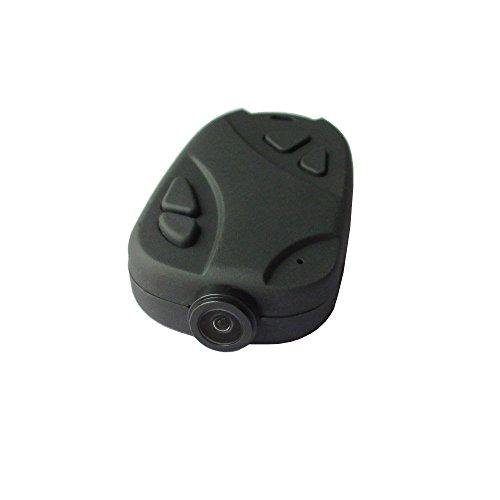 Matecam Mini Versteckte Spion-Kamera, 808 Schlüsselanhänger Kamera 1080P mit 120-Grad Mini Camcorder