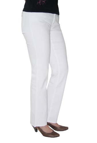 "Damen Jeans ""Dolly"" Weiss"